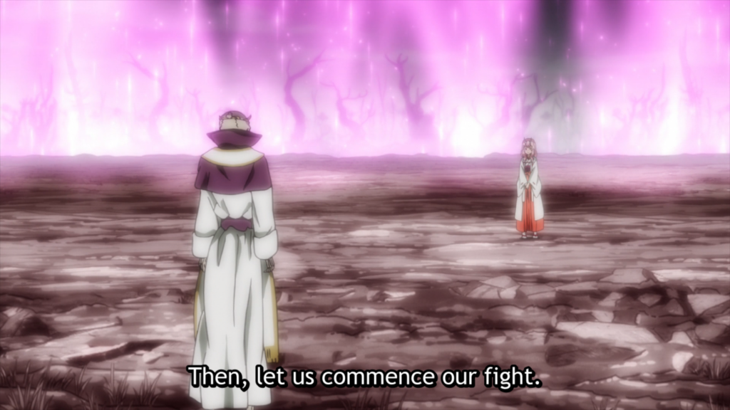 That Time I Got Reincarnated as a Slime Episode 45 - Shuna and Adalman beginning their fight